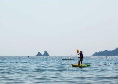Apprentissage paddle