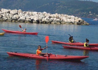 Kayaks des mers