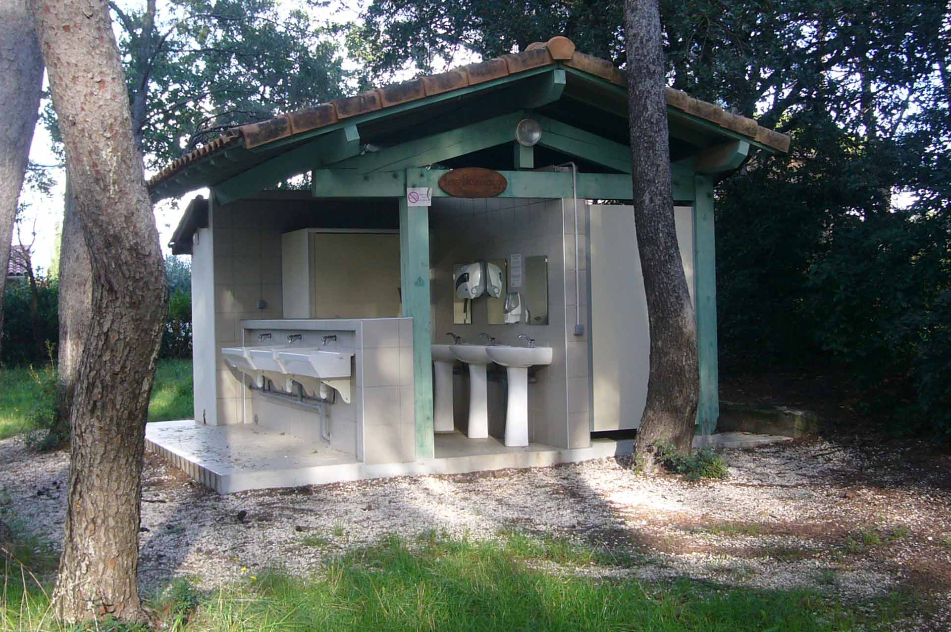 Sanitaire camping
